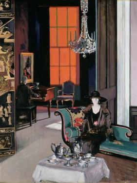 Interior - the Orange Blind, c.1928 by Francis Campbell Boileau Cadell
