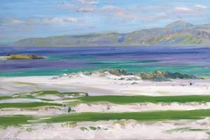 Iona Sound and Ben More by Francis Campbell Boileau Cadell