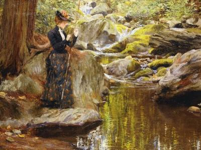 Baiting the Line by Francis Coates Jones