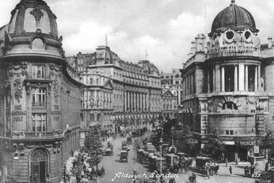 Aldwych, London, Early 20th Century