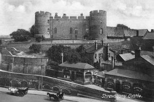 Shrewsbury Castle, Shrewsbury, Shropshire, C1900s-C1920S by Francis Frith