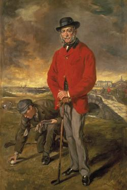 John Whyte-Melville of Bennochy and Strathkinness by Francis Grant