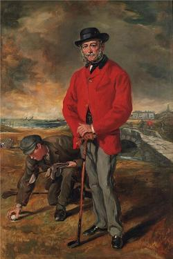 Portrait of John Whyte-Melville, of Bennochy and Strathkinness (1797-188) by Francis Grant