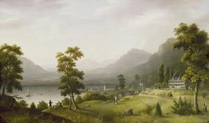 Carter's Tavern at the Head of Lake George, 1817-18 by Francis Guy