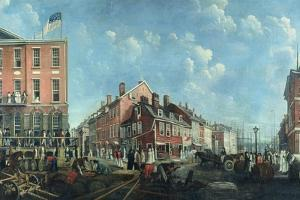 Tontine Coffee House, C.1797 by Francis Guy