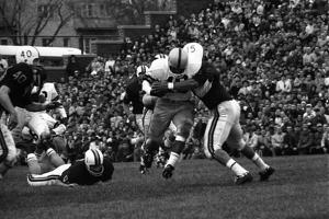 Minnesota- Iowa Game and Football Weekend, Minneapolis, Minnesota, November 1960 by Francis Miller