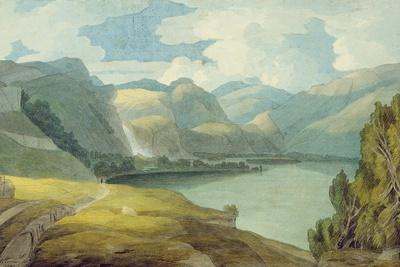 Derwentwater Looking South, 1786