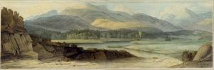 Elterwater, 12th August 1786 by Francis Towne