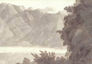 Head of Lake Geneva by Francis Towne