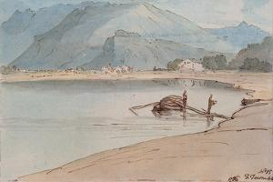 Lake Windermere, 1786 by Francis Towne