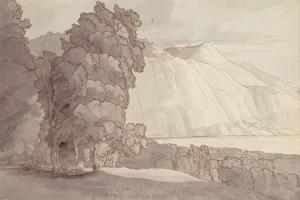 Landscape (Lake Geneva) by Francis Towne