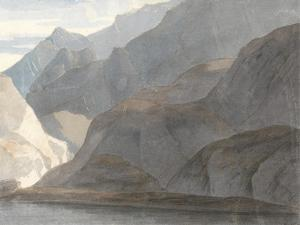 On the Lake Como, 1781 by Francis Towne