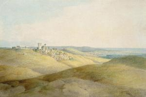 Pough Hill, Near Bude, Cornwall by Francis Towne