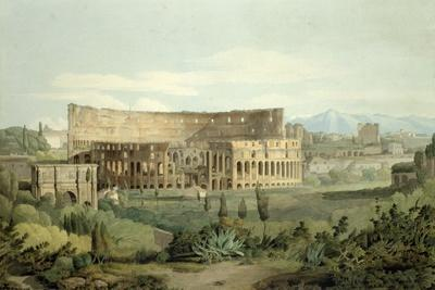 The Colosseum from the Caelian Hills, 1799