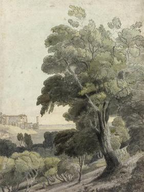 Tivoli, Showing Rome in the Distance, c.1781 by Francis Towne