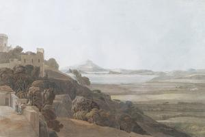 View from Tessa Aurunca, 1784 by Francis Towne