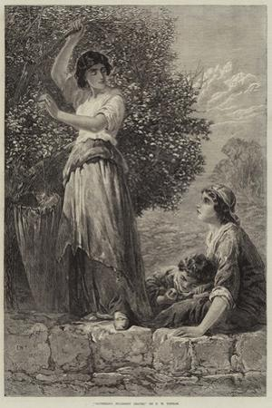 Gathering Mulberry Leaves