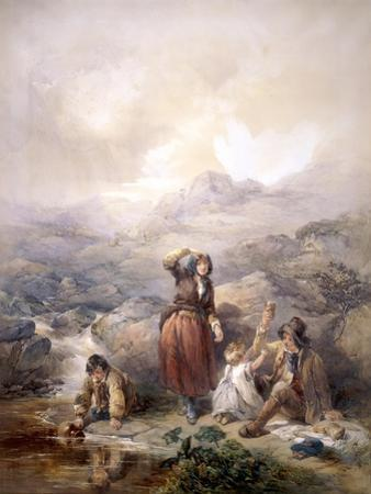 The Shepherd's Meal, 1844