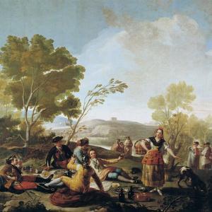 A Picnic, 1776 by Francisco de Goya