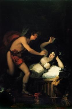 Allegory of Love (Cupid and Psych) by Francisco de Goya
