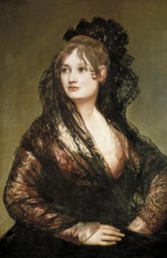 Doña Isabel De Porcel by Francisco de Goya