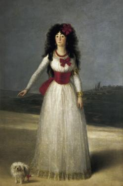 Duchess of Alba by Francisco de Goya