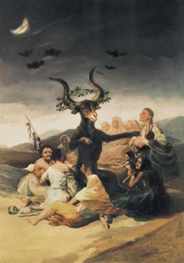 El Aquelarre by Francisco de Goya