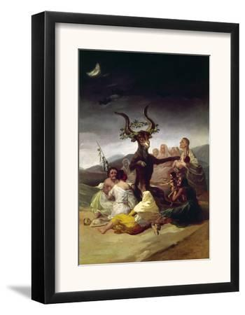 Goya: Witches Sabbath by Francisco de Goya