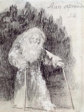 I Am Still Learning by Francisco de Goya