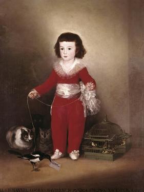 Manuel Osorio Manrique De Zuñiga by Francisco de Goya