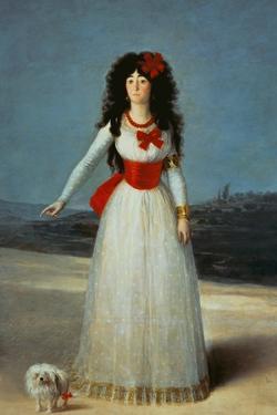 Maria Teresa Cayetana de Silva, Duchess of Alba by Francisco de Goya