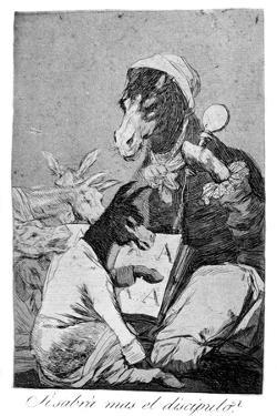 Might Not the Pupil Know More?, 1799 by Francisco de Goya