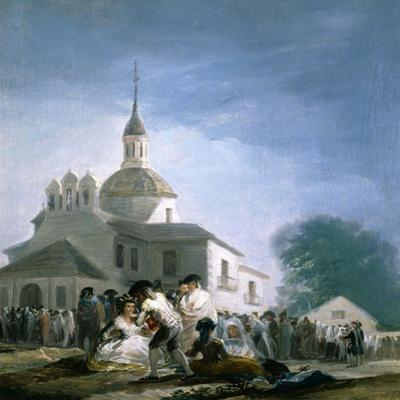 Saint Isidores Day at the Saints Hermitage, 1788 by Francisco de Goya