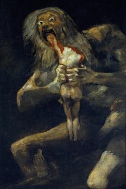 Saturn Devouring His Son by Francisco de Goya