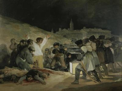 The 3rd of May 1808 in Madrid by Francisco de Goya