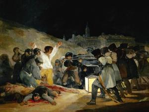 The 3rd of May In Madrid, 1814, Spanish School by Francisco de Goya