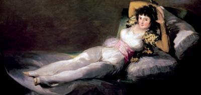 The Clothed Maja, circa 1800 by Francisco de Goya