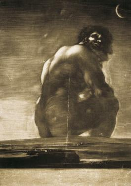 The Colossus by Francisco de Goya