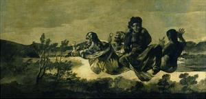 The Fates, 1819-23 by Francisco de Goya