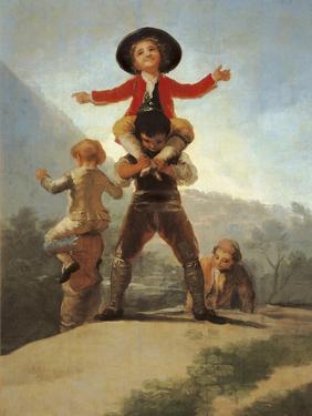The Little Giants by Francisco de Goya