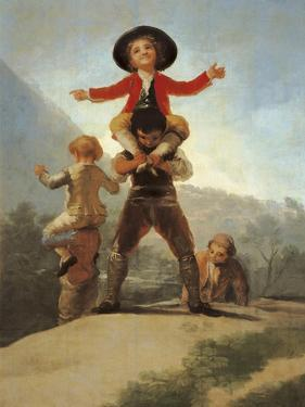 The Little Giants by Francisco de Goya