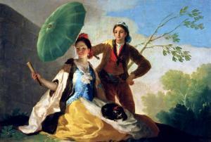 The Parasol, 1777 by Francisco de Goya