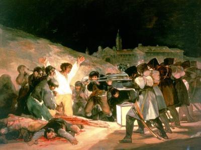 The Shootings of May 3rd 1808, 1814 by Francisco de Goya
