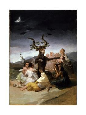 The Witches' Sabbath, 1797-98 by Francisco de Goya