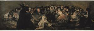 The Witches' Sabbath (Sabbatical Scene) by Francisco de Goya