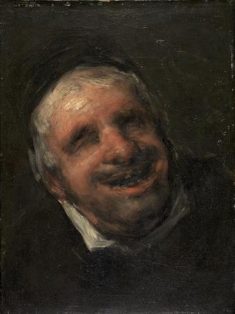 Tio Paquete, 1818-1820 by Francisco de Goya