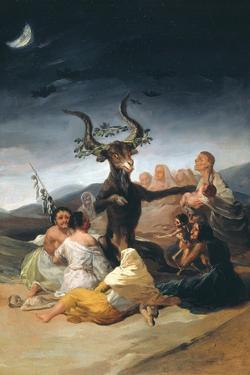 Witches Sabbath, 1797-1798 by Francisco de Goya
