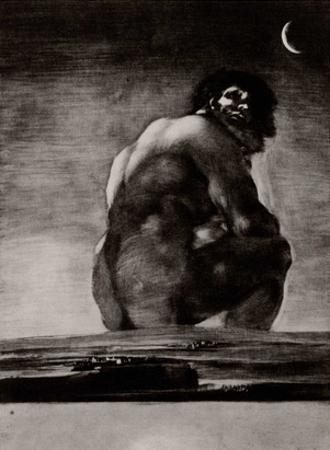 Francisco de Goya y Lucientes (The colossus) Art Poster Print