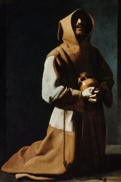 St Francis Of Assisi by Francisco de Zubaran