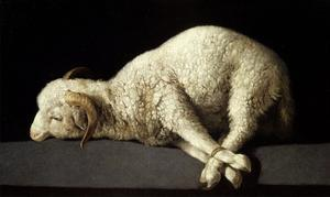 Agnus Dei (The Lamb of God), 1635-1640 by Francisco de Zurbaran